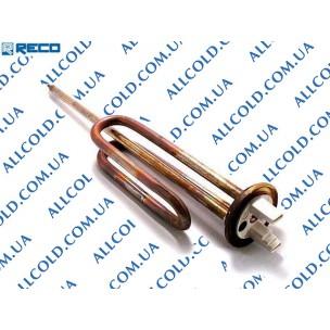 ТЭН водонагревателя 1500W 220V RECO фланцевый медь 265+150mm M6 WTH101UN