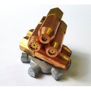Сварочная насадка к горелке MESSER  ALLGAS (комплект 5 шт)