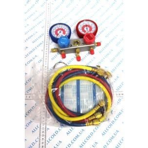 Манометр. коллектор CТ-236 BG ( R-410 Китай) со шлангами