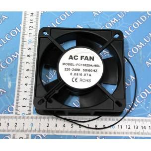 Вентилятор SUNON квадрат 108х108мм.(уменьшенный)